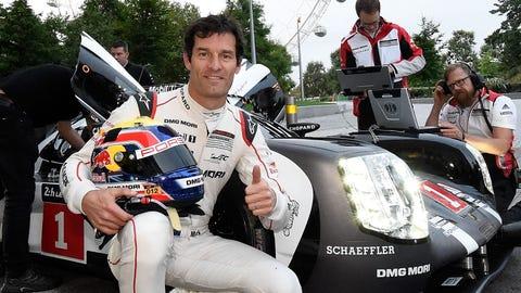 8. Mark Webber retires