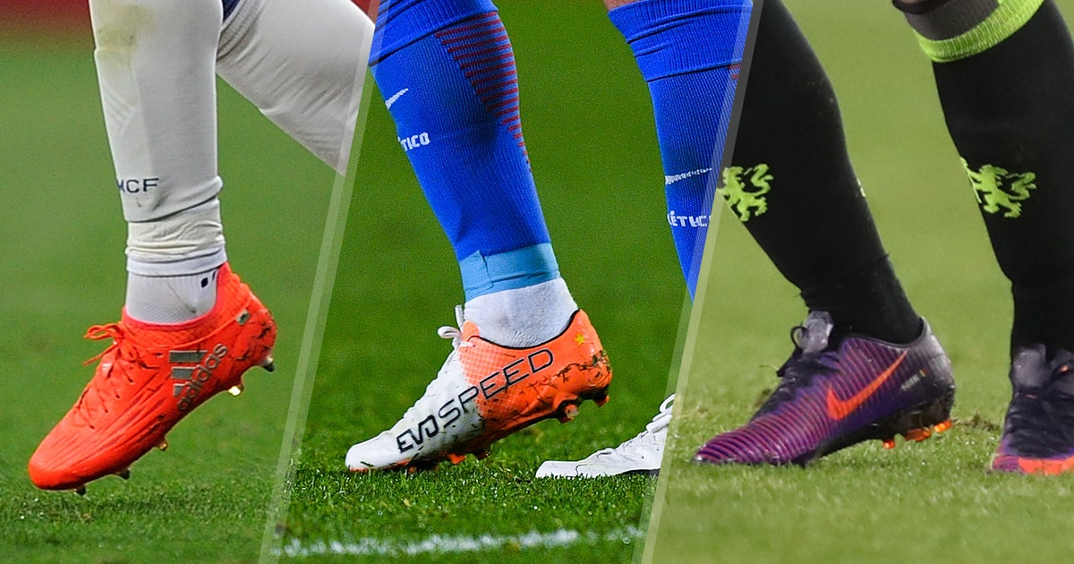 35a1b2e0d The 10 most popular boots worn by pro soccer players