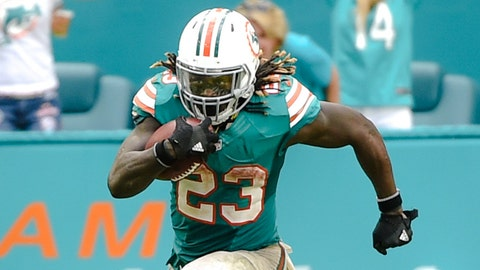 16. Back-to-back 200+ yard games for Jay Ajayi