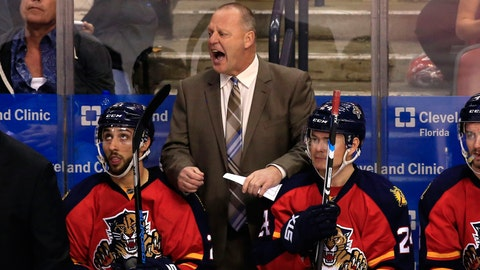 15. Panthers fire Gerard Gallant 22 games into 2016-17 season