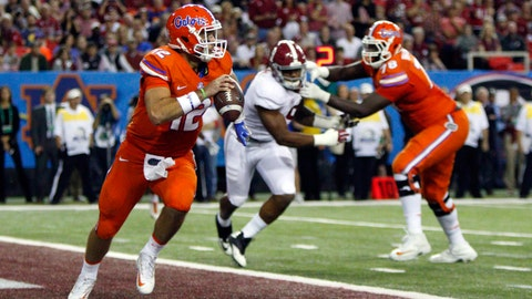 22. Gators advance to SEC title game for 2nd straight season