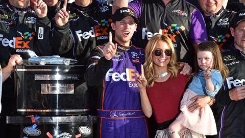 10. Denny Hamlin wins Daytona 500 for first time