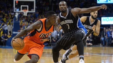 12. Magic trade Victor Oladipo to Thunder on draft night in exchange for Serge Ibaka
