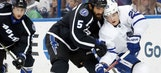 Lightning done in by late penalty in overtime loss to Maple Leafs