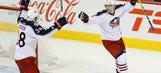Blue Jackets' win streak tied for fourth longest in NHL history