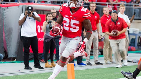 Ohio State RB Mike Weber