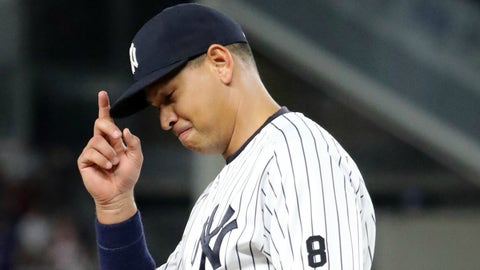 Alex Rodriguez bows out