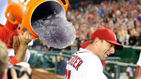 Max Scherzer goes K crazy