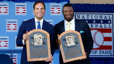 Mike Piazza and Ken Griffey Jr. become immortal