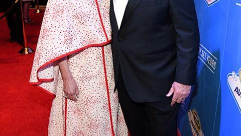 Rick Hendrick and wife Linda
