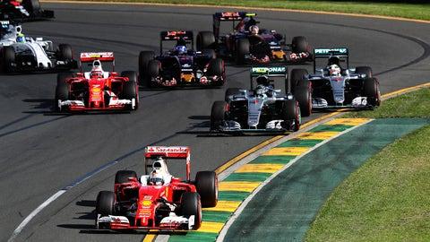 1. Lewis Hamilton's bad starts