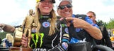 Female NHRA national victories in 2016