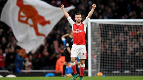 Shokdran Mustafi to Arsenal – A+