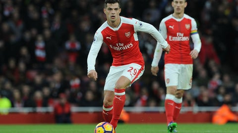 Granit Xhaka to Arsenal – C