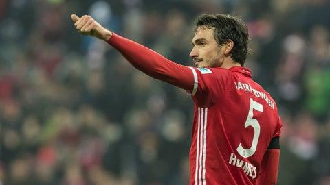Centerback: Mats Hummels (Bayern Munich)