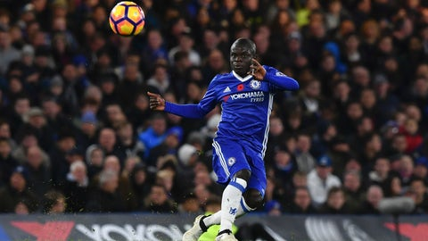 N'Golo Kante to Chelsea – A+