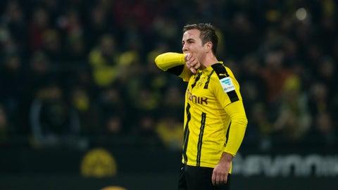 Mario Götze to Dortmund – D