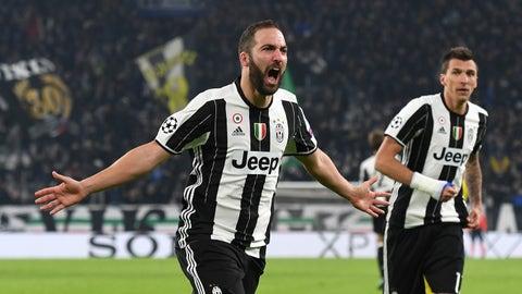 Gonzalo Higuain to Juventus – B+