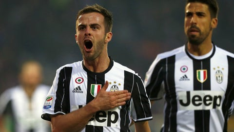Miralem Pjanic's impact in the middle of the pitch
