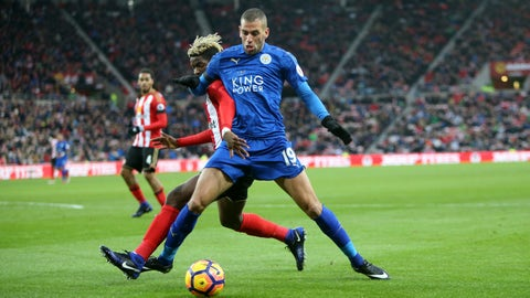 Islam Slimani to Leicester City – B+
