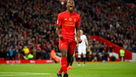 Georginio Wijnaldum to Liverpool – A-