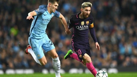 John Stones to Man City  –  D