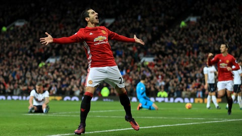 Henrikh Mkhitaryan to Man United – C-