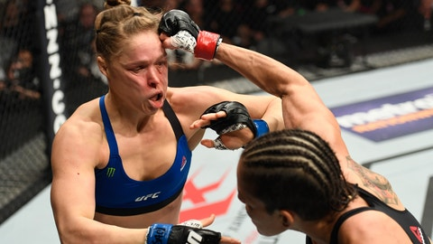 Ronda Rousey's shortcomings
