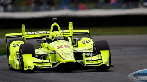 Simon Pagenaud's winning streak