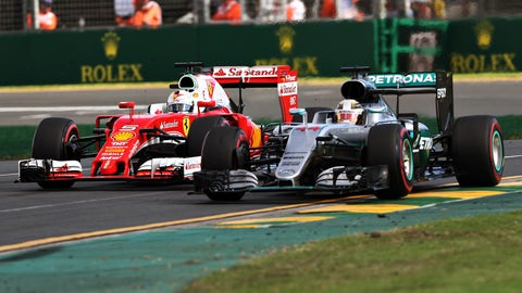 1. Can Sebastian Vettel and Ferrari take the fight to Mercedes?