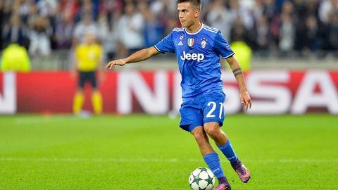 T-14. Paulo Dybala, Juventus