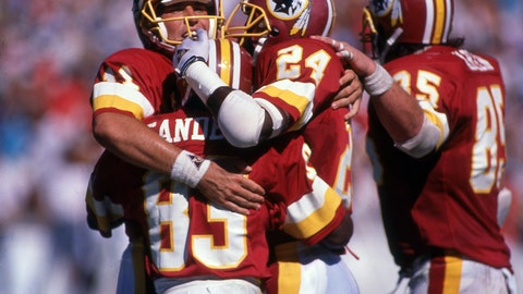 7. Washington Redskins