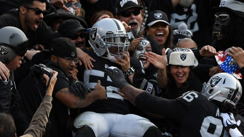 6. Oakland Raiders