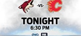 Coyotes host Flames to open 5-game homestand