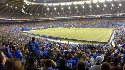 March 11 -- Montreal Impact (Olympic Stadium)