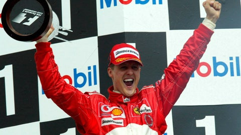 Michael Schumacher - $1 billion
