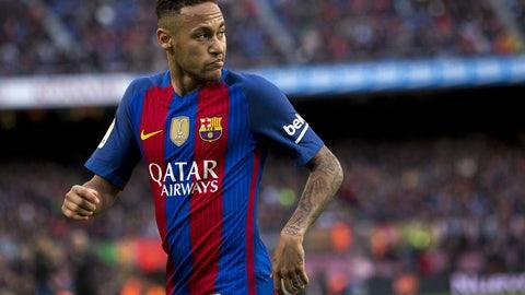 1. Neymar, Barcelona