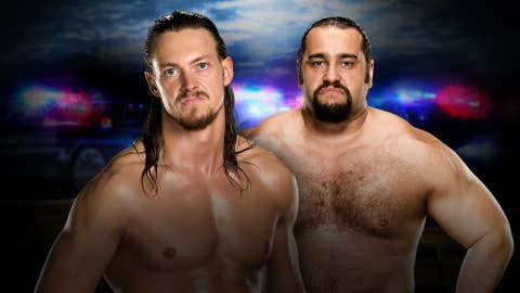 Kickoff show: Big Cass vs. Rusev