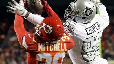 Oakland Raiders (last week: 3)