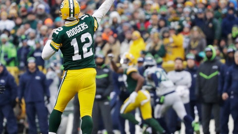 Aaron Rodgers -- Green Bay Packers