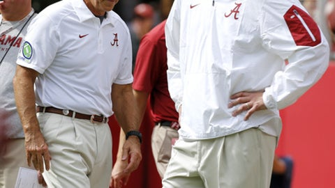 Of course make no mistake: While he appreciates Saban, he still fears him