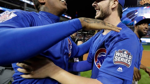 The Cubs won their first World Series in 108 years