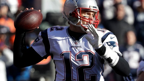 AFC: 1. New England Patriots (14-2)