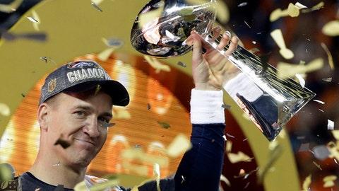 QB Peyton Manning (2012 Broncos)