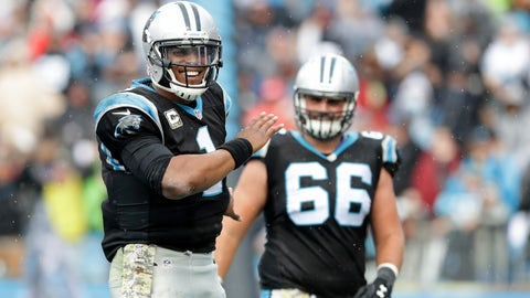 1. Carolina Panthers