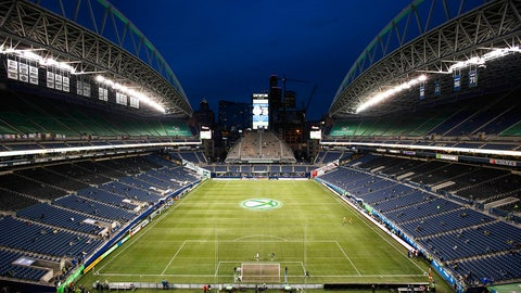 March 19 -- Seattle Sounders (CenturyLink Field)