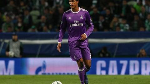 DEF: Raphael Varane, Real Madrid (€50 million)