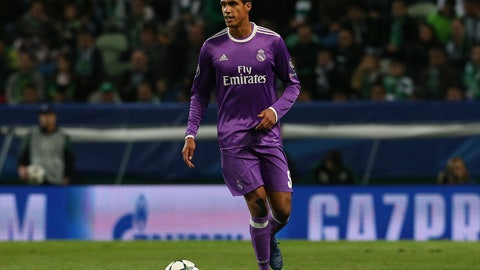 Raphael Varane back in the mix?
