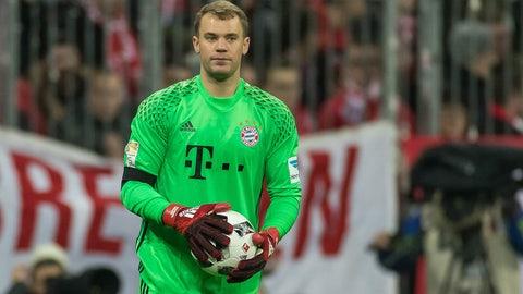 28. Manuel Neuer, Bayern Munich