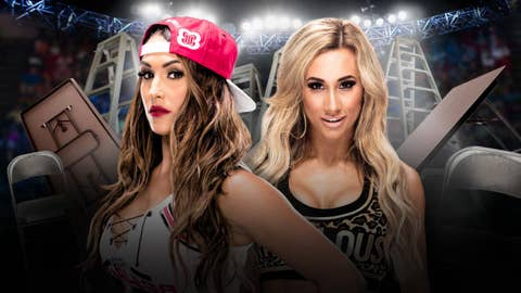 Nikki Bella vs. Carmella in a no disqualification match